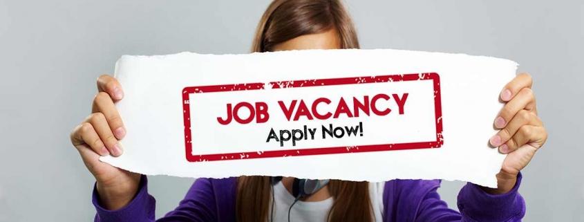 Job Vacancy - Apply Now!